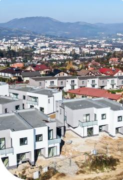 Pršianská terasa - výstavba